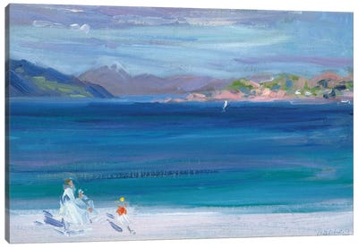 The Tail of Mull from Iona  Canvas Art Print