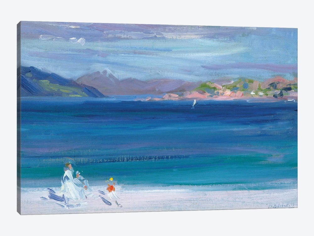 The Tail of Mull from Iona  by Francis Campbell Boileau Cadell 1-piece Canvas Art Print