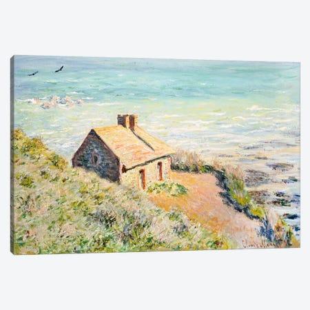 The Customs Hut, Morning, 1882  Canvas Print #BMN5586} by Claude Monet Canvas Art Print