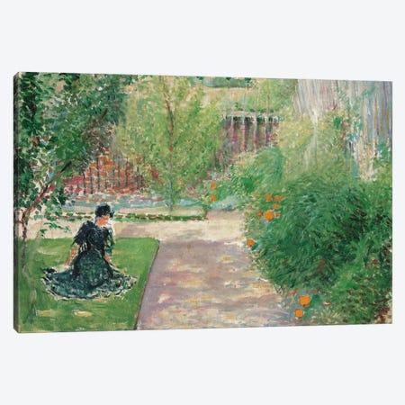 Sunny Garden, 1908  Canvas Print #BMN5587} by August Macke Canvas Art Print