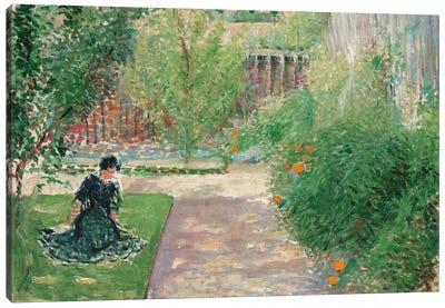 Sunny Garden, 1908  Canvas Art Print