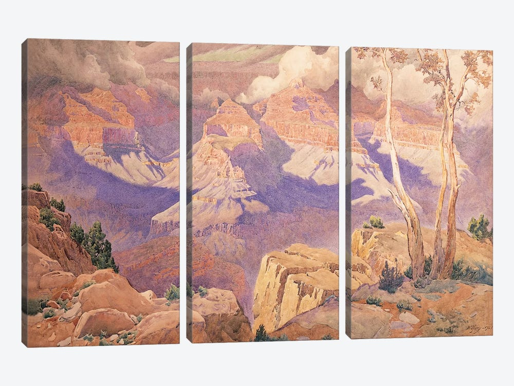 Grand Canyon, 1927  by Gunnar Widforss 3-piece Art Print
