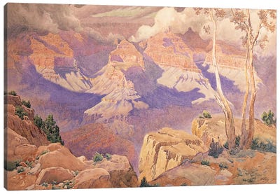 Grand Canyon, 1927  Canvas Art Print