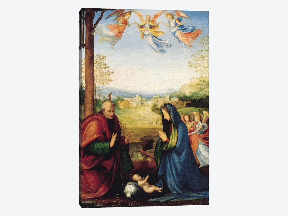 The Nativity  by Fra Bartolommeo 1-piece Canvas Artwork