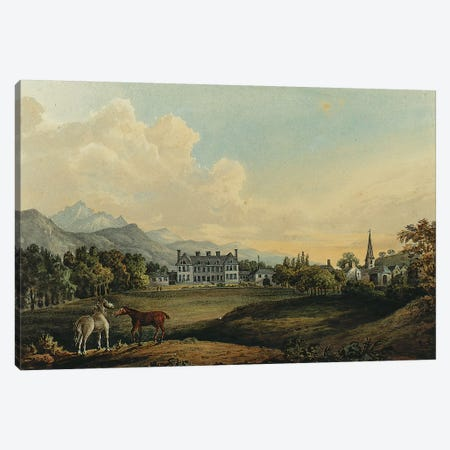 Views in Killarney: Lord Kenmare's House  Canvas Print #BMN5602} by Thomas Gage Canvas Print