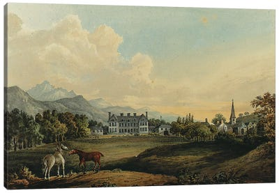 Views in Killarney: Lord Kenmare's House  Canvas Art Print