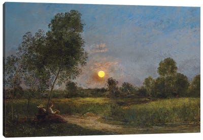 Moonrise, 1887  Canvas Art Print