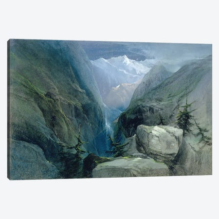 Mountain Landscape Canvas Print #BMN560} by Henry Bright Canvas Print