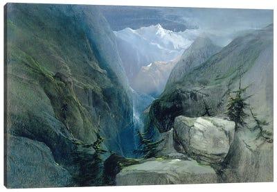 Mountain Landscape Canvas Print #BMN560