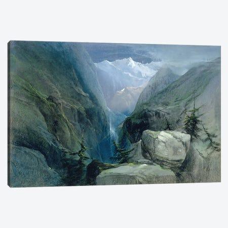 Mountain Landscape Canvas Print #BMN560} by Henry Bright Canvas Print