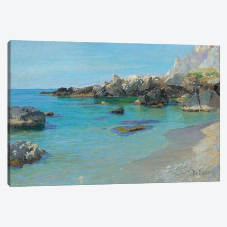 On the Capri Coast  Canvas Print #BMN5613} by Paul von Spaun Canvas Artwork
