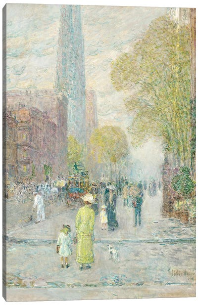 Cathedral Spires, Spring Morning, 1909  Canvas Art Print