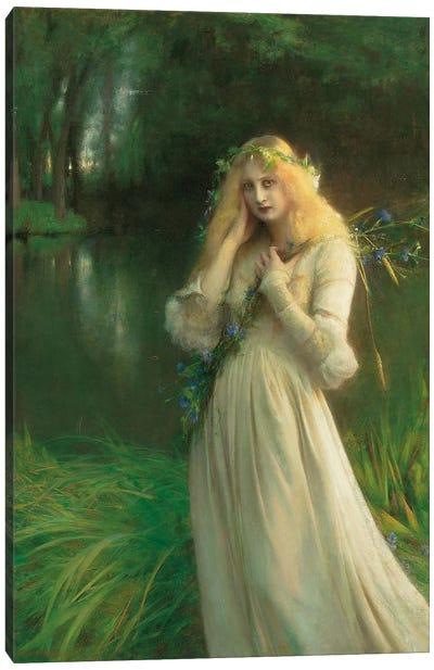 Ophelia, 1900  Canvas Art Print