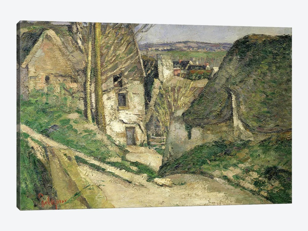 The House of the Hanged Man, Auvers-sur-Oise, 1873   by Paul Cezanne 1-piece Canvas Print
