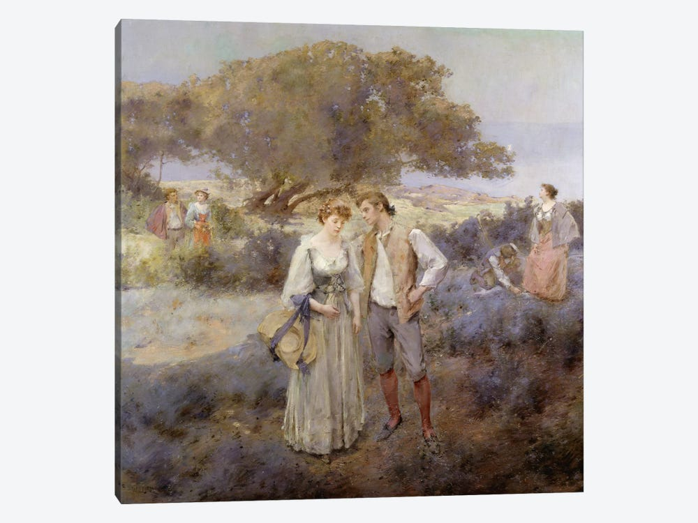 Le Retour de Cythere, c.1892  by William II Lee 1-piece Canvas Art Print