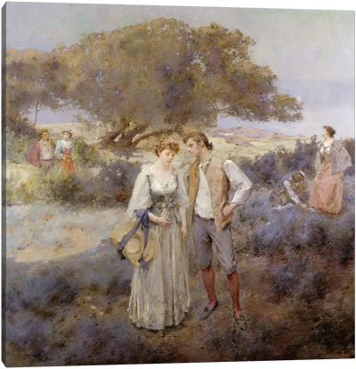 Le Retour de Cythere, c.1892  Canvas Art Print