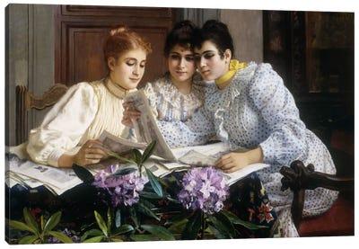 Selecting the Trousseau  Canvas Art Print