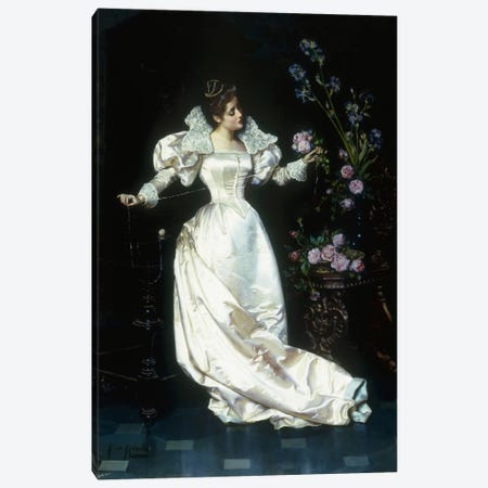 The Bouquet  Canvas Print #BMN5643} by Pio Ricci Art Print