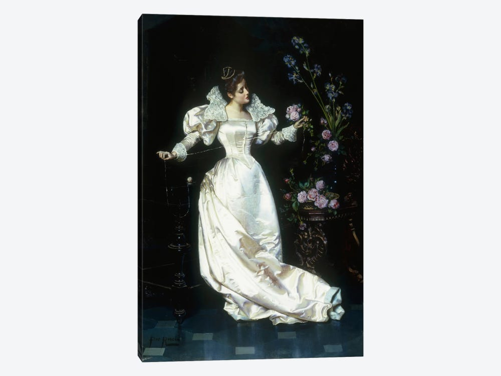 The Bouquet  by Pio Ricci 1-piece Canvas Wall Art