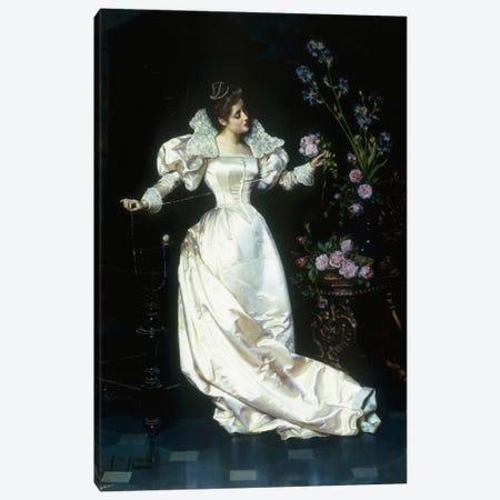 The Bouquet  Canvas Print #BMN5643} by Pio Ricci Art Print