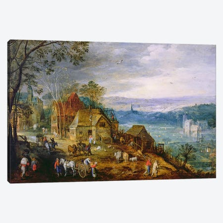 Landscape Scene  Canvas Print #BMN565} by Tobias Verhaecht Canvas Art