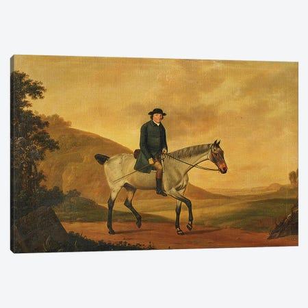 Portrait of Richard Davenport, 1776  Canvas Print #BMN5666} by Thomas Stringer Canvas Art