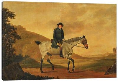 Portrait of Richard Davenport, 1776  Canvas Art Print