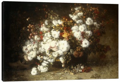 Still life of flowers Canvas Art Print