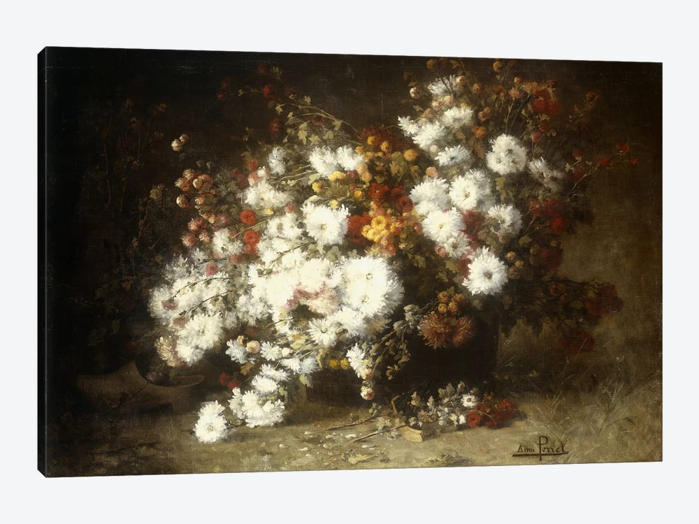 Still life of flowers  by Aime Perret 1-piece Canvas Print