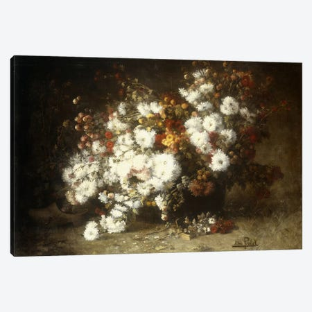 Still life of flowers  Canvas Print #BMN5675} by Aime Perret Canvas Art Print