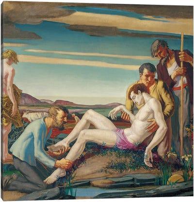 The Death of Hyacinth, 1920s  Canvas Art Print