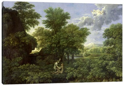 Spring, or The Garden of Eden  Canvas Art Print