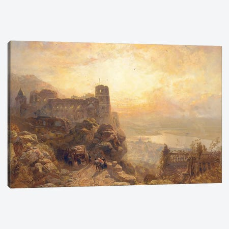 Heidelberg, 1878  Canvas Print #BMN5690} by James Webb Canvas Art