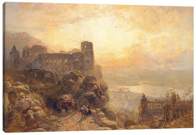 Heidelberg, 1878  Canvas Art Print