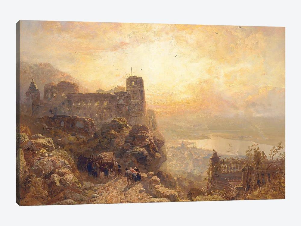Heidelberg, 1878  by James Webb 1-piece Canvas Artwork