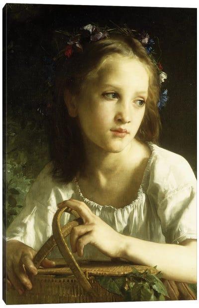 La Petite Ophelie, 1875  Canvas Art Print