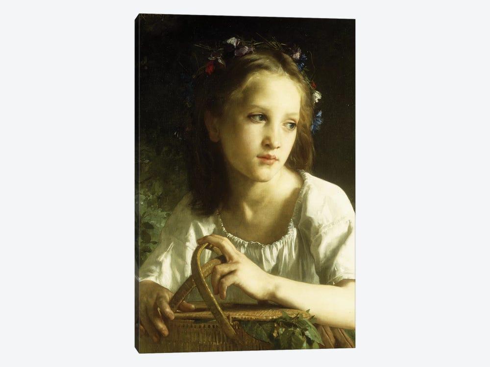 La Petite Ophelie, 1875  by William-Adolphe Bouguereau 1-piece Art Print
