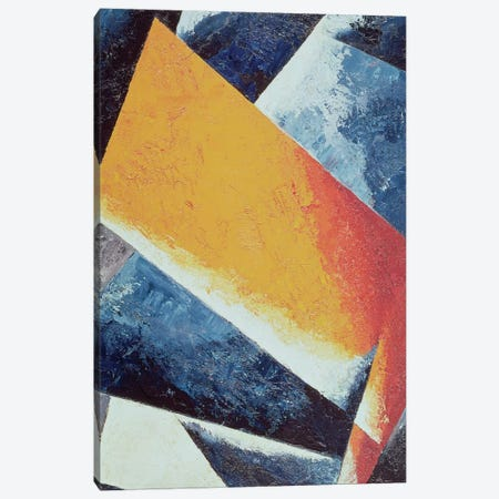 Architectonic Composition (oil on canvas) Canvas Print #BMN56} by Lyubov Popova Canvas Art