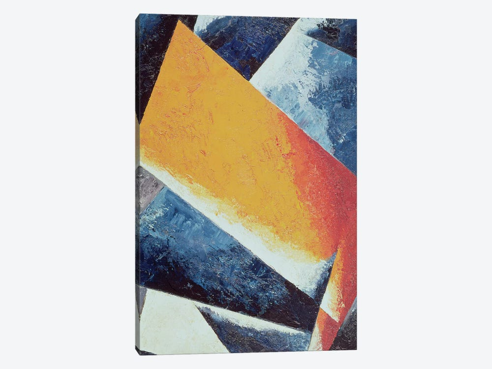 Architectonic Composition (oil on canvas) by Lyubov Popova 1-piece Canvas Art Print