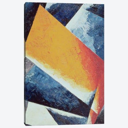 Architectonic Composition (oil on canvas) Canvas Print #BMN56} by Lyubov Popova Canvas Art