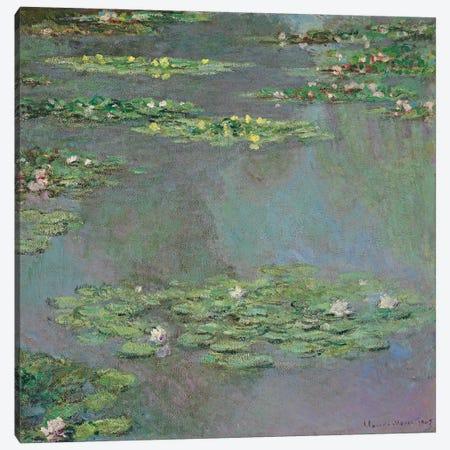 Nympheas, 1905  Canvas Print #BMN5703} by Claude Monet Canvas Wall Art