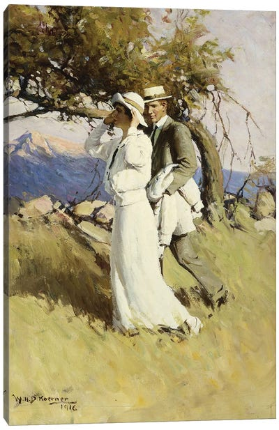 Summer Days, 1916  Canvas Art Print
