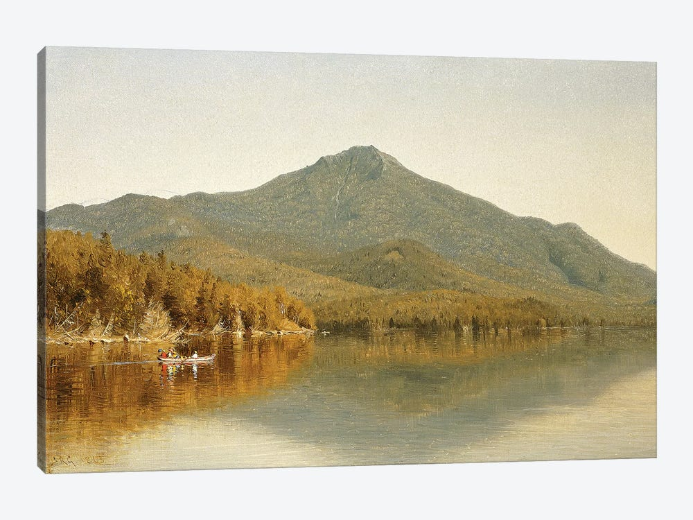 Mount Whiteface from Lake Placid, in the Adirondacks, 1863  by Albert Bierstadt 1-piece Canvas Artwork