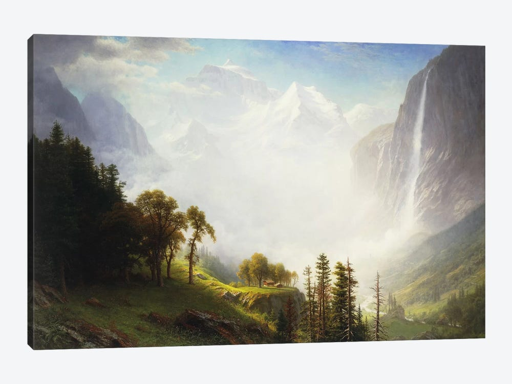 Majesty of the Mountains, 1853-57  by Albert Bierstadt 1-piece Canvas Print