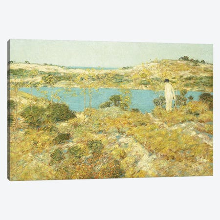 Dune Pool, 1912  Canvas Print #BMN5708} by Childe Hassam Canvas Artwork