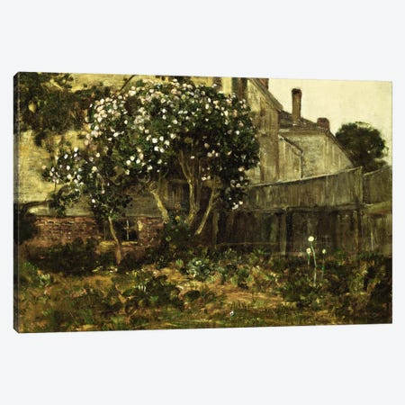 Lilac Time, c. 1884  Canvas Print #BMN5714} by Childe Hassam Canvas Art