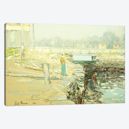 The Mill Dam, Cos Cob, 1903  Canvas Print #BMN5715} by Childe Hassam Canvas Artwork