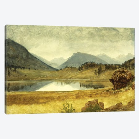 Wind River Country Canvas Print #BMN5717} by Albert Bierstadt Canvas Art