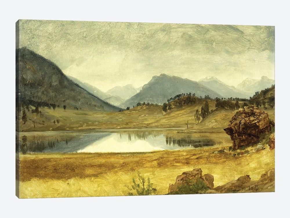 Wind River Country by Albert Bierstadt 1-piece Canvas Artwork