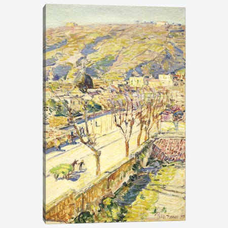 Posillipo, Italy, 1897  Canvas Print #BMN5724} by Childe Hassam Canvas Art Print